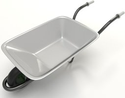 Wheelbarrow 3D Model