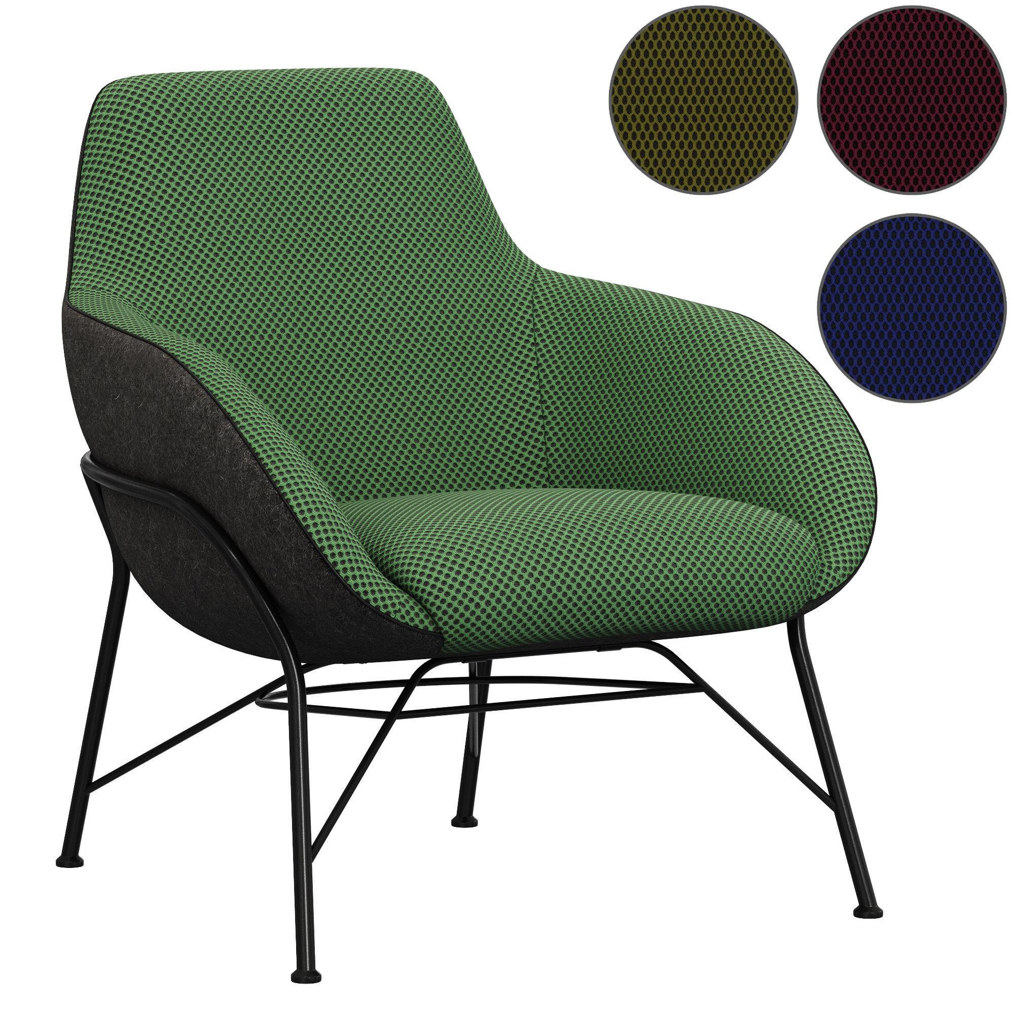 Roche Bobois Tilt armchair