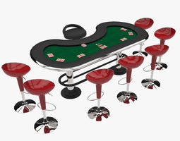 3D model Poker Equipment