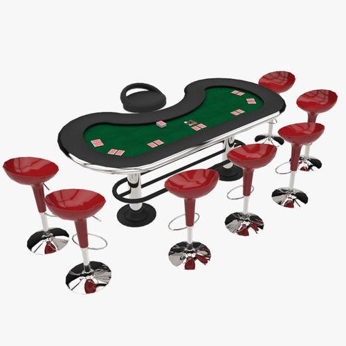 poker equipment 3d model fbx ma mb 1