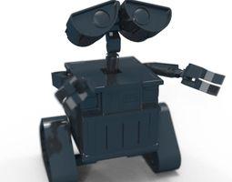 wall-e 3d print model