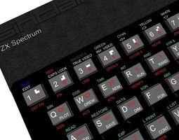 3d printable model zx spectrum 48k