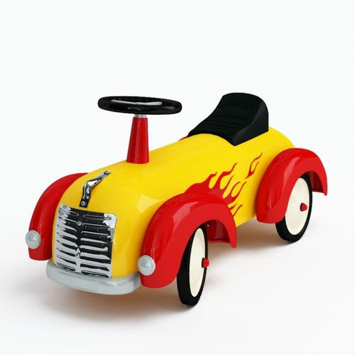 Toy   Ride On Car3D model