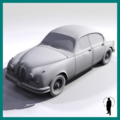 JAGUAR CAR 3D Model .max