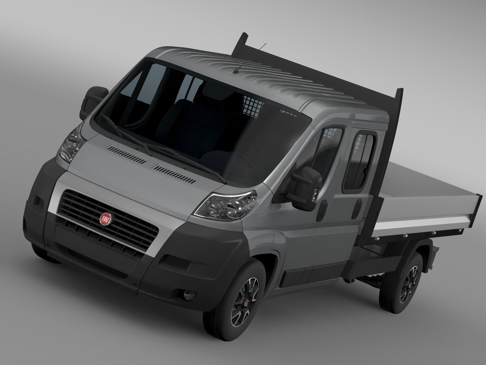 Fiat Ducato Crew Cab Truck 2009 2014