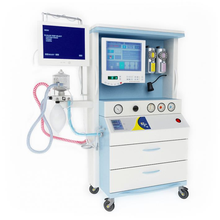 Hospital Equipment With Monitors