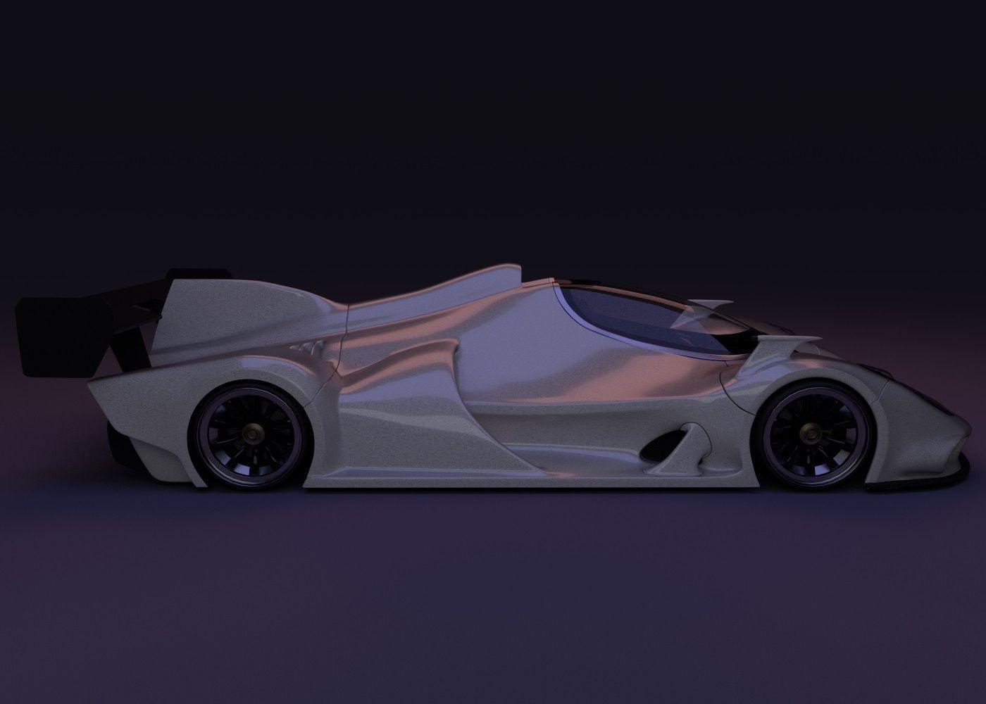 The Le Mans Car 3d Model Cgtrader