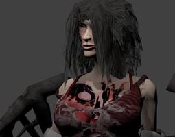 Angel DemonGirl 3D Model