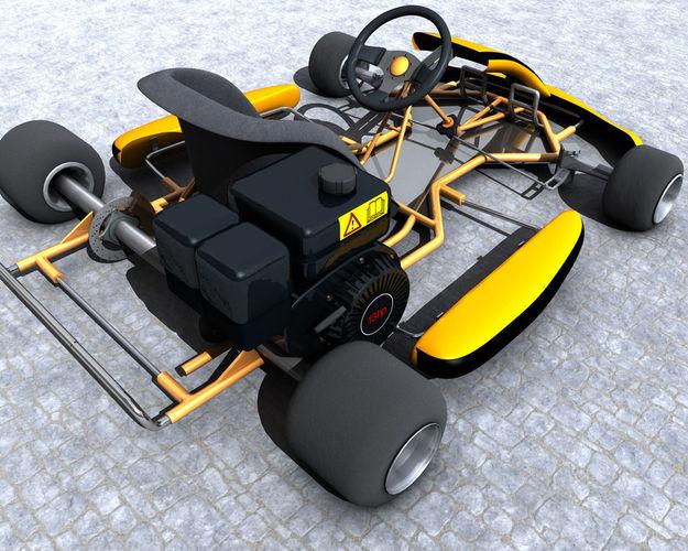 Racing Go Kart GoKart
