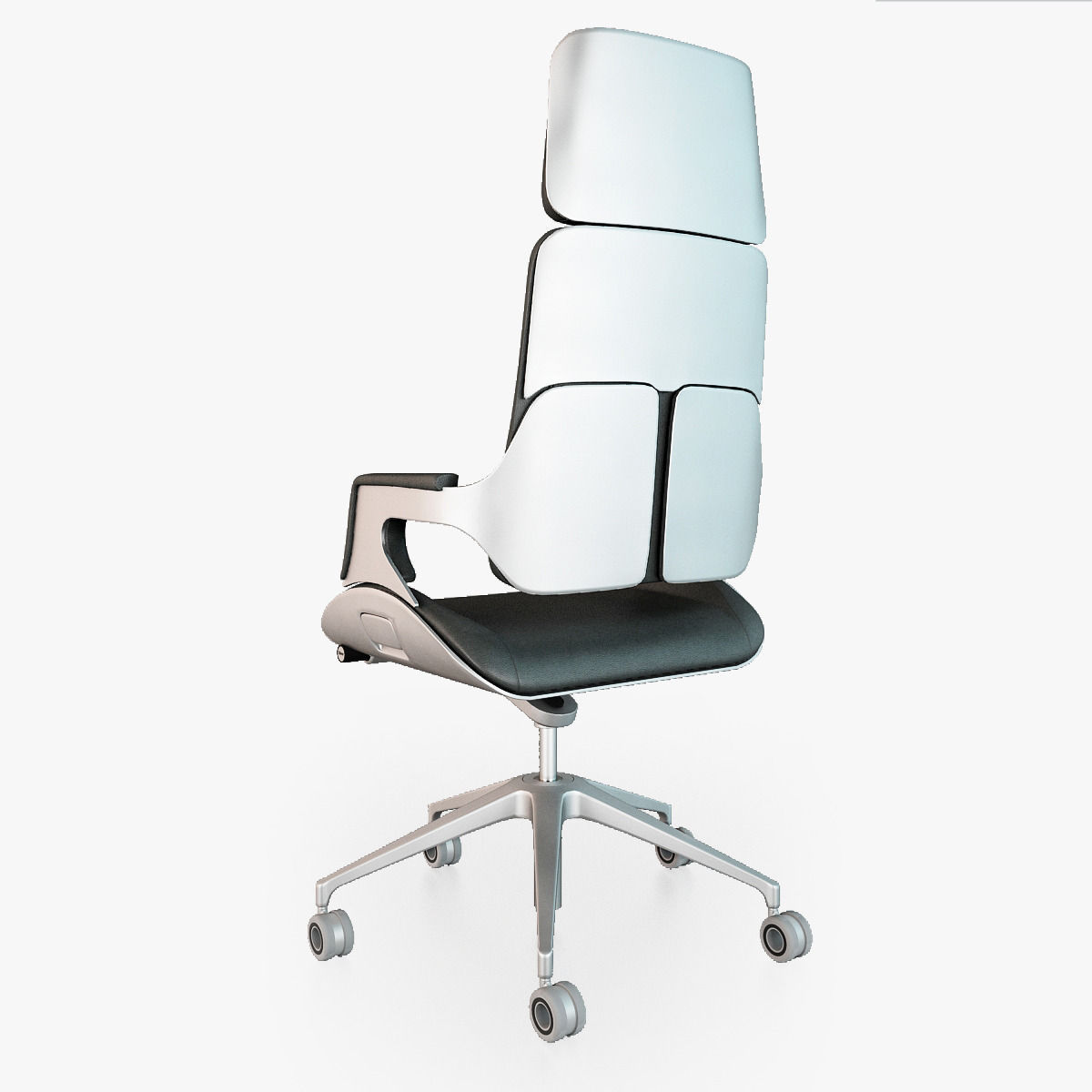 Beautiful ... Interstuhl Silver 362s Office Chair 3d Model Max Obj Fbx 5 ...