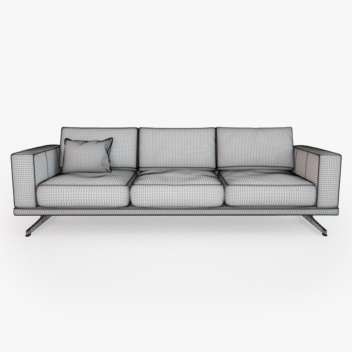 Boconcept Carlton Sofa Model Max Obj Fbx