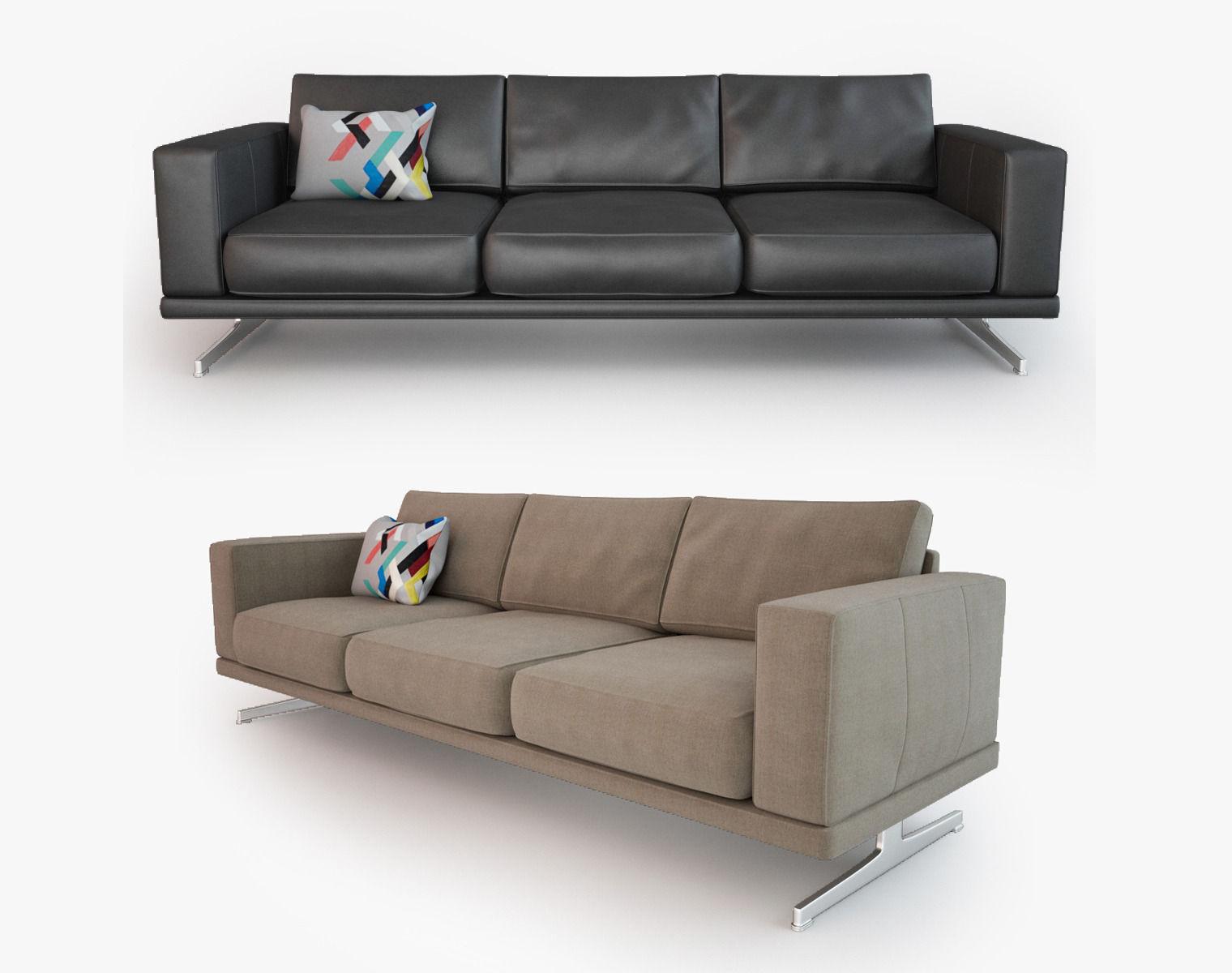 Bo Concept Sofa 3d Boconcept Philly Sofa