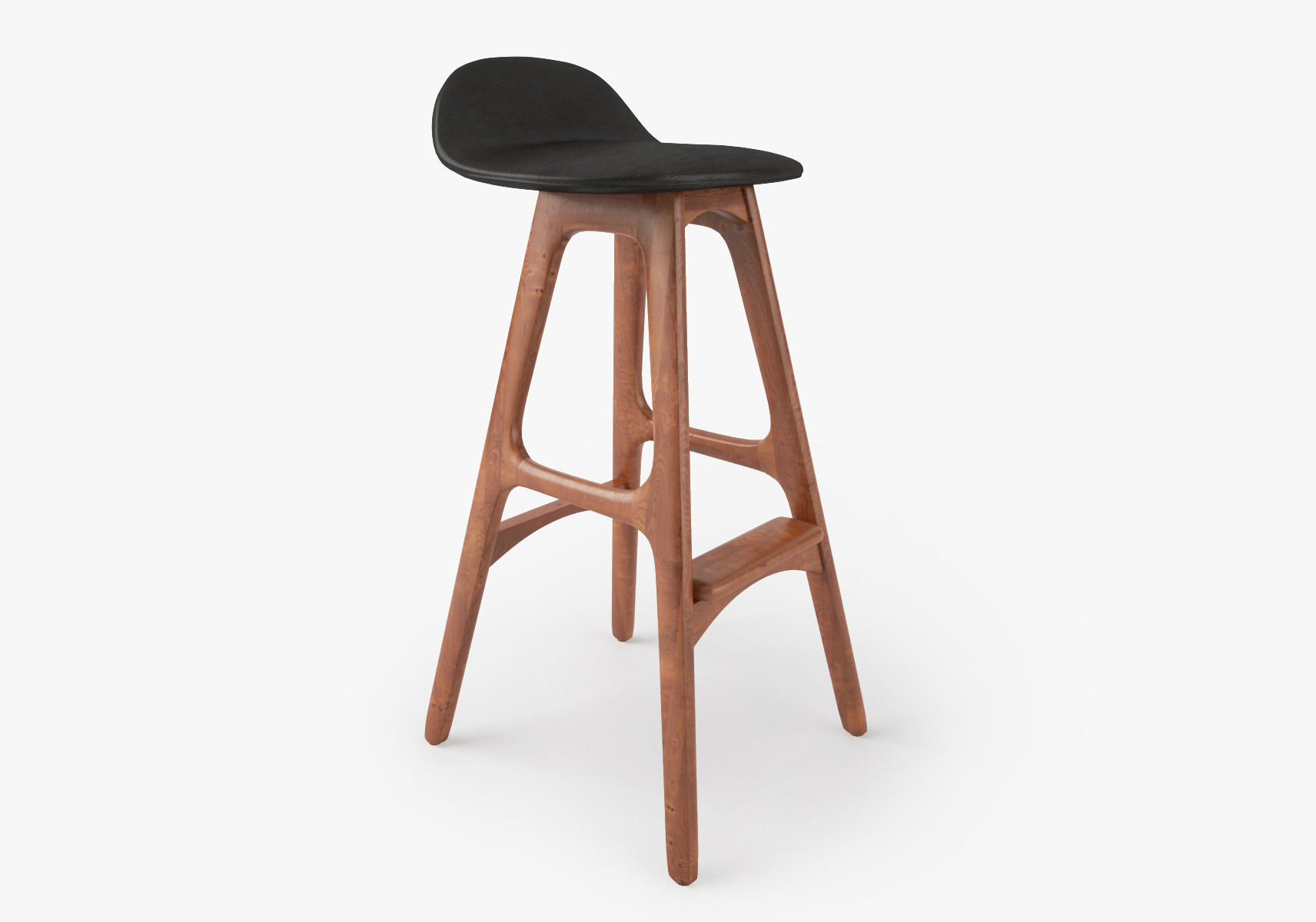 Erik Buch Bar Stool Model Max Obj Mtl Fbx Mat 1