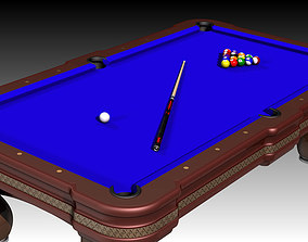 Billiards Table 3D printable model