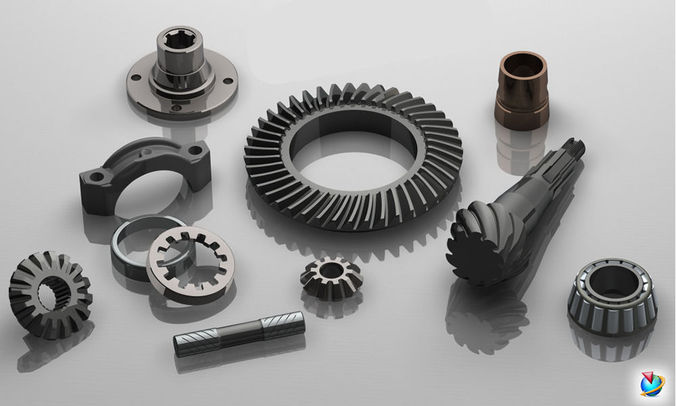 differential gears 3d model stp 1