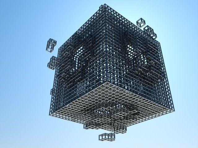 Cube explosion grid