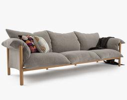 3D Jardan Wilfred Sofa