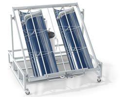 sample solar power center 3d model