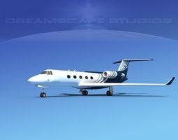 3D Grumman Gulfstream G-V V04