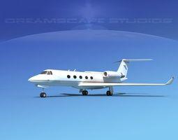 3D Grumman Gulfstream G-V V14