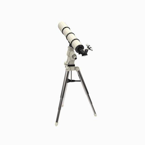 modern telescope 3d model fbx ma mb 1