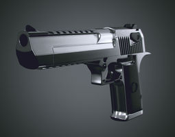 3D Desert Eagle clean