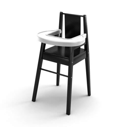 Black And White Baby Chair3D model
