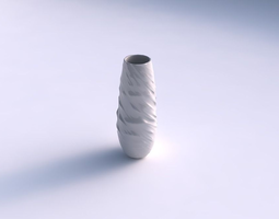 vase bullet with fibers smooth inside 3d print model