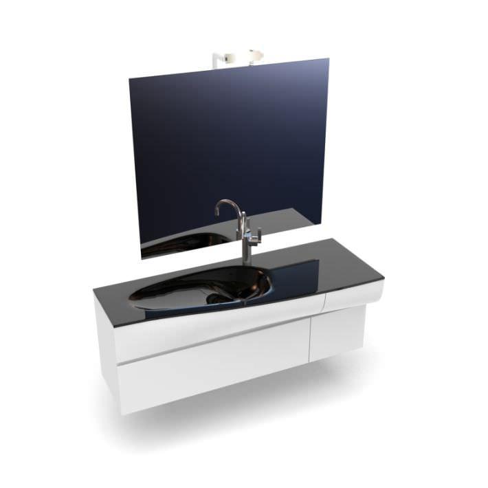 Lastest BATHROOM VANITY LIGHT FIXTURE Silver 2 Bulb Bath Room Over Sink