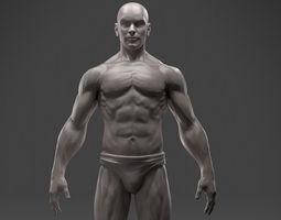 Male Anatomy Sculpture 3D Model