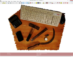 desktopToolsAndWatch 3D model