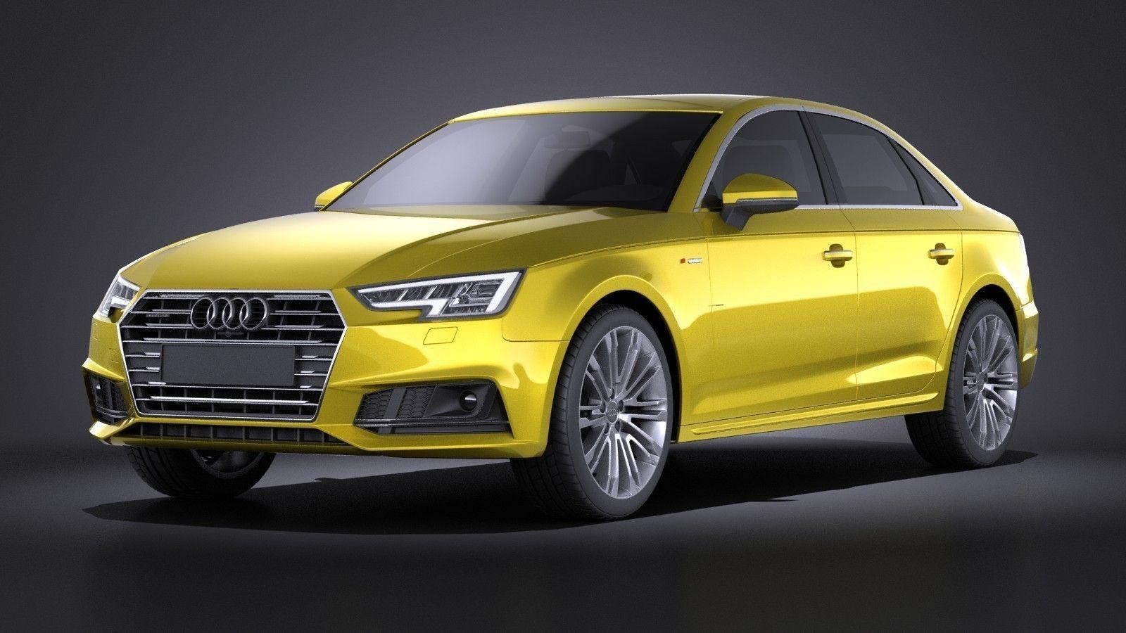 Audi A4 S-Line Sedan 2016 VRAY