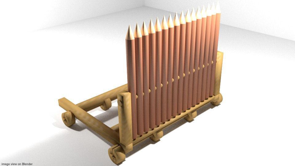 Medieval War Machine - Ramp Shield