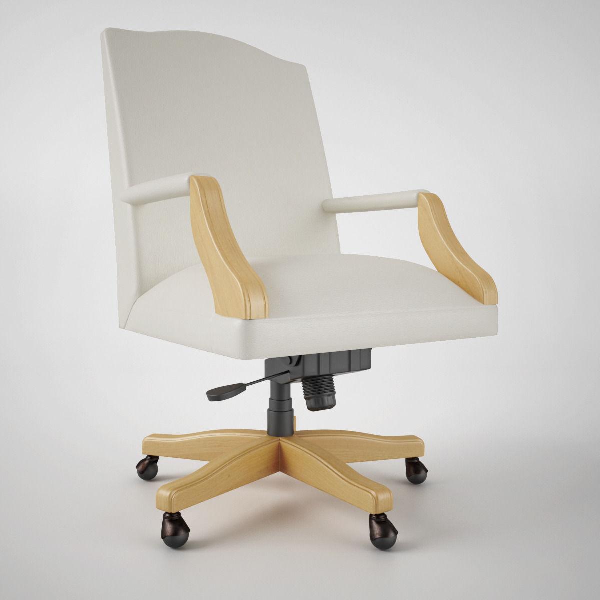 steelcase mansfield office chair 3d model max obj fbx mtl 2