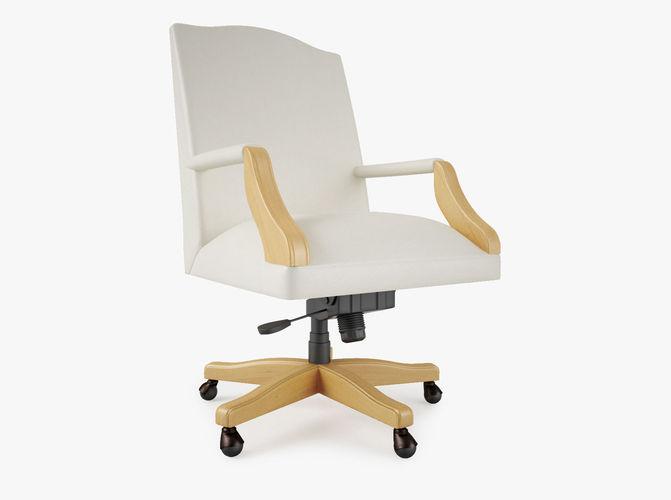 steelcase mansfield office chair 3d model max obj fbx mtl 1