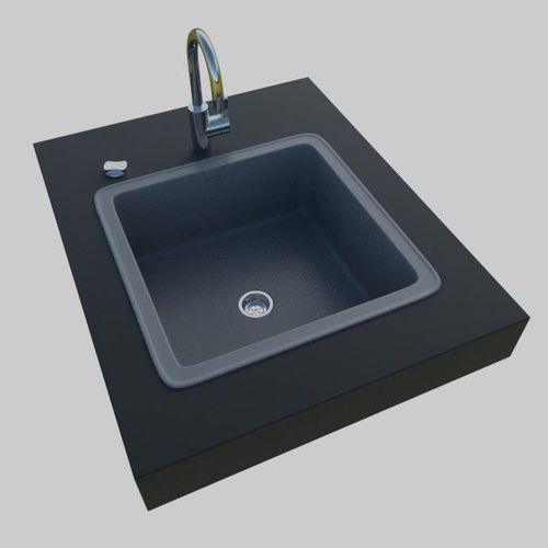 High Quality Kitchen Sink 3D Model Ideas