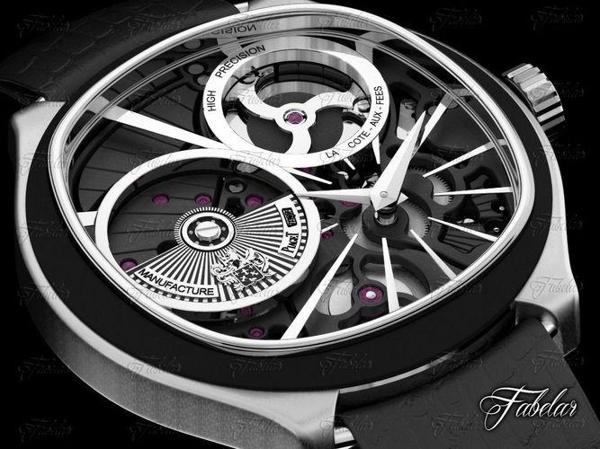 watch 3d model max 1
