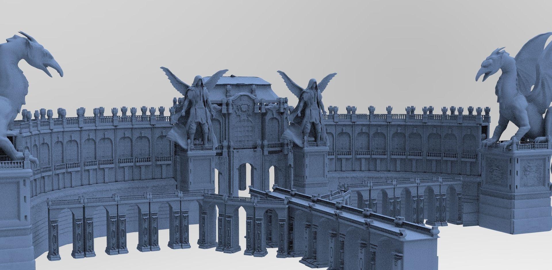 Baroque Palace Fantasy