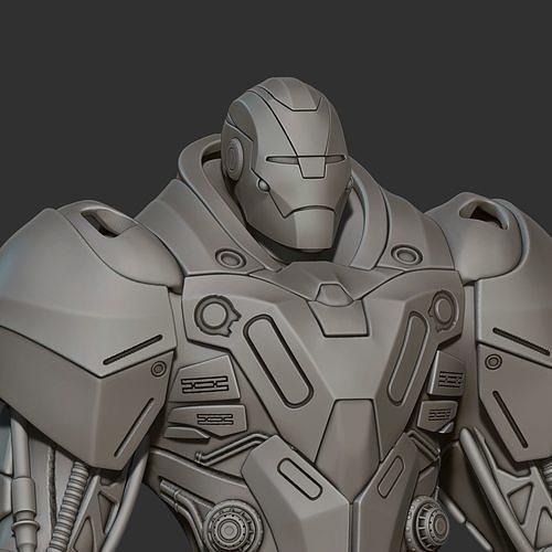 Custom Ironman 3d print model