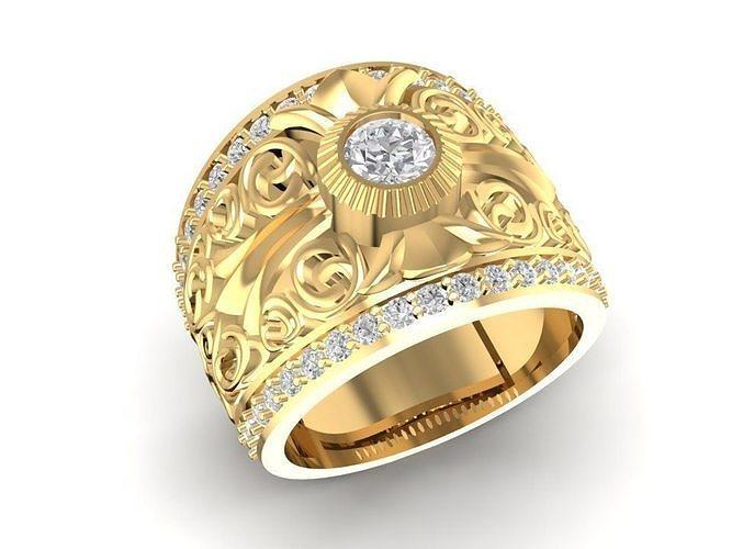 korea diamond ring for men 643