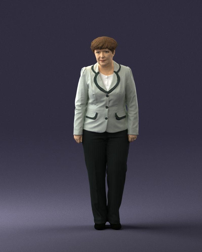 Lady pant suit 0499