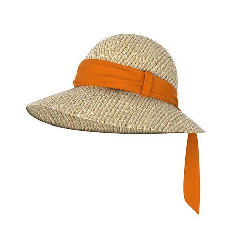 women s sun hat 3d model obj 1
