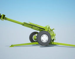 cannon 2a61  3d model