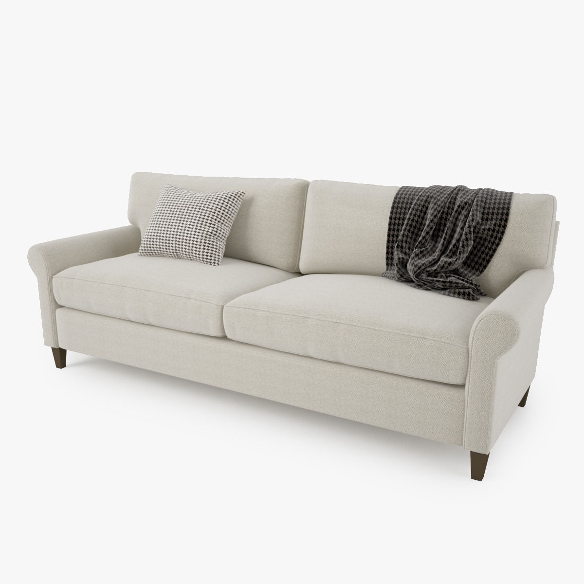 Crate And Barrel Montclair Sofa Collection 3d Model Max