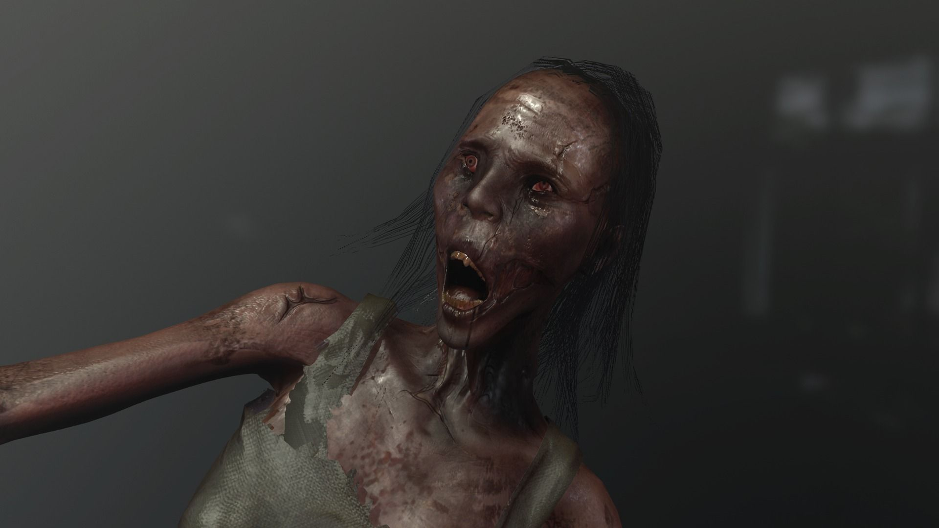 zombie woman or Ghost AAA like PT