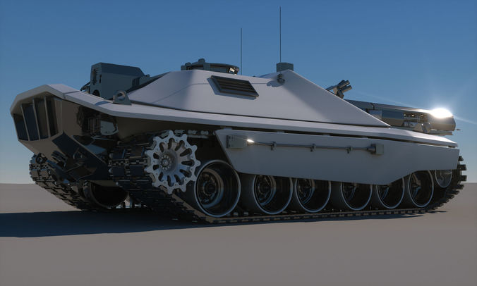 Future Military Tanks Sci-Fi Future Tank Con...