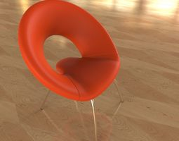 Ring Chair 3D