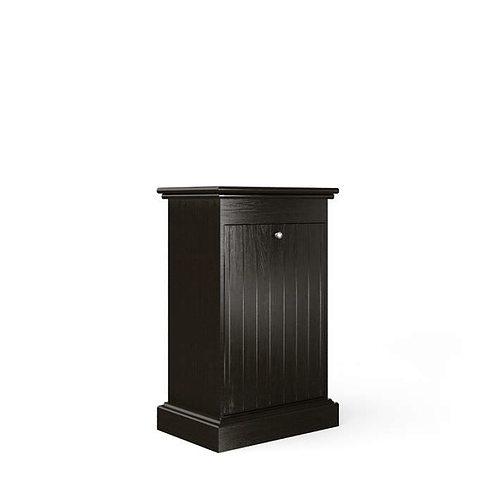 dark decorative bathroom cabinet 3d model obj