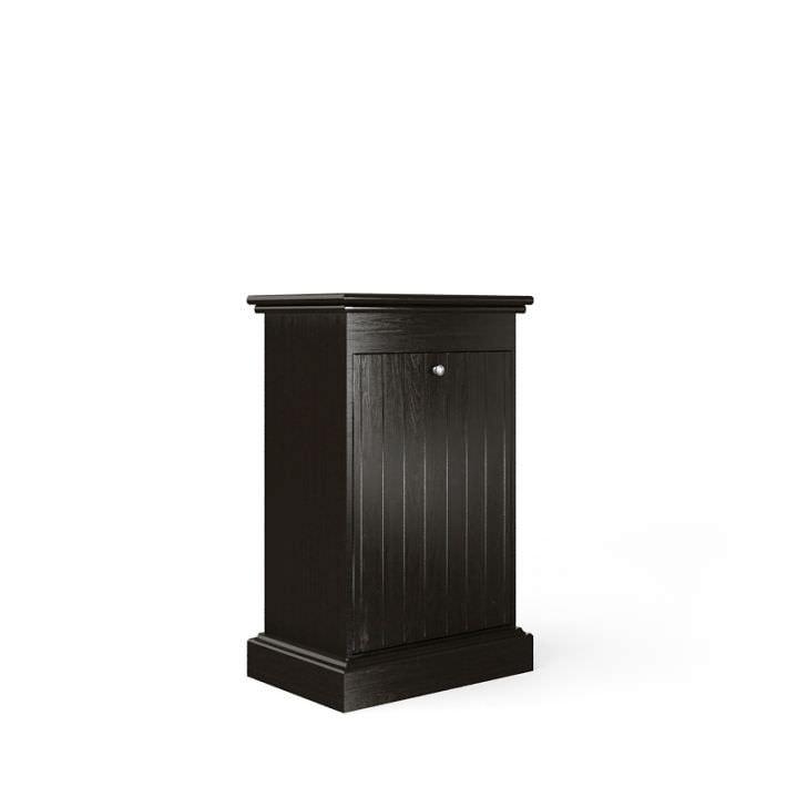 Dark Decorative Bathroom Cabinet 3d Model