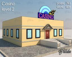Casino Level 3d asset